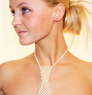 Damenkrawatte, Luxus Krawatte für Damen, Motto Fete, Party Outfit: Sport & Freizeit
