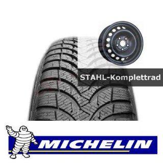 4 er Satz Winterräder Renault MEGANE (Z) 195/65 R15 91T Michelin ALPIN A4 GRNX Winterreifen Stahl Kompletträder,Stahlrad 13014006: Auto