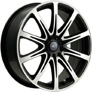 ICW Euro 15x6.5 Machined Black Wheel / Rim 4x100 & 4x4.5 with a 42mm Offset and a 73.00 Hub Bore. Partnumber 209MB 5650342: Automotive