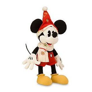Disney Classic Holiday Mickey Mouse Plush    16'' Toys & Games