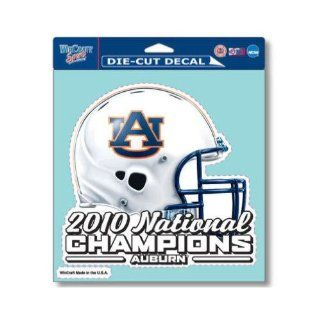 "Auburn Tigers Official NCAA 8""x8"" Die Cut Car Decal  Sports Fan Decals  Sports & Outdoors"