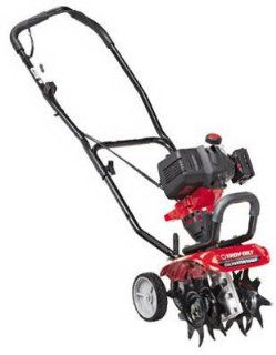 Troy Bilt TB146 EC 29cc 4 Cycle NO MIX OIL AND GAS Cultivator with JumpStart Technology  Troy Bilt Rototiller With Edger  Patio, Lawn & Garden