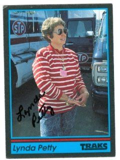 Lynda Petty autographed Trading Card (Auto Racing) 1991 Tracks, #154 at 's Sports Collectibles Store