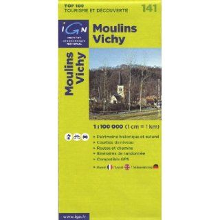141  Moulins/Vichy 1100, 000 (English, French and German Edition) Ign 9782758515333 Books