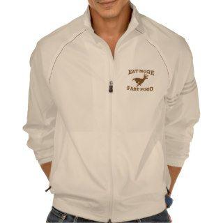 Hunter Hunting Sport Funny Eat More Fast Food Buck Tee Shirts