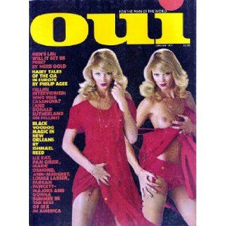Oui Magazine January 1977: Playboy: Books