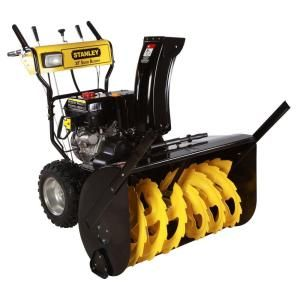 Stanley 30in. Commercial 302 cc Two Stage Electric Start Gas Snow Blower with Bonus Drift Cutters Clean Out Tool DISCONTINUED 30SS