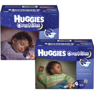 Huggies ? Overnites Disposable Diapers (sizes 4, 5) ?