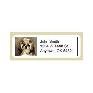 Shih Tzu Address Labels : Office Products