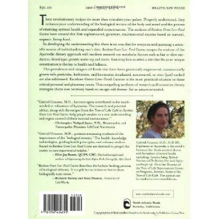 Rainbow Green Live Food Cuisine Gabriel Cousens M.D., Tree of Life Cafe Chefs, Eliot Rosen, David Wolfe 9781556434655 Books