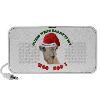 hump day camel merry christmas laptop speakers