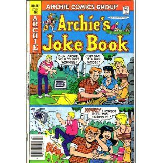 Archie's Joke Book, #261 (Comic Book) (ARCHIE SERIES) ARCHIE COMICS Books