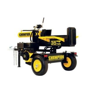 Champion Power Equipment 35 Ton Hydraulic Log Splitter with Log Catcher CARB 93520