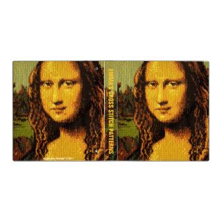 Mona Lisa Smile in Cross Stitch Binder