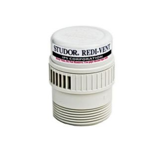 STUDOR Redi Vent 1 1/2 in.   2 in. PVC Air Admittance Valve Adapter (Case of 24) 20346