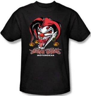 Lethal Threat   Evil Jester Men's T Shirt at  Men�s Clothing store