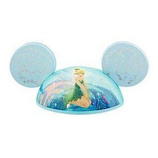 Disney Park Exclusive Blue Tinkerbell with Pixie Glitter Mickey Mouse Ears Hat