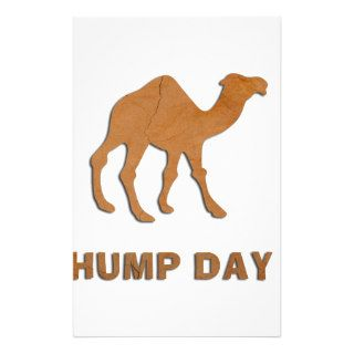 VINTAGE HUMP DAY CAMEL CUSTOM STATIONERY