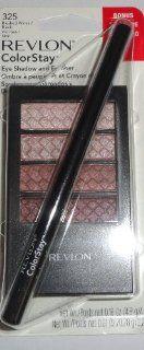 Revlon Colorstay Eye Shadow 325 Blushed Wines & Black Eyeliner  Face Blushes  Beauty