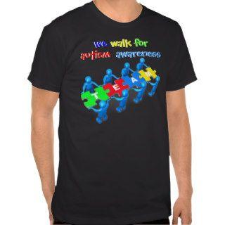 Walk For Autism Awareness T shirts