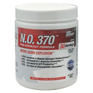 Nitric Oxide Supplements 30 Servings Top Secret Nutrition N.O. 370 Grape ( Multi Pack) Health & Personal Care