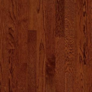 Bruce Natural Reflections Oak Cherry Solid Hardwood Flooring   5 in. x 7 in. Take Home Sample BR 667234