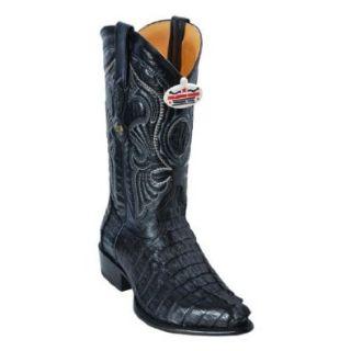New Men's J Toe Genuine Caiman Tail Leather Los Altos Western/Cowboy Boots Shoes