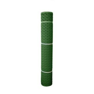 HDX 4 ft. x 50 ft. Sentry Secura Green PVC Construction Fence 889604A