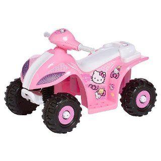 KidTrax Hello Kitty 6V Quad ATV Kids Electric Ride On Toys & Games