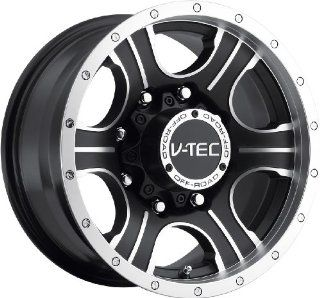 V Tec Assassin 16 Machined Black Wheel / Rim 6x5.5 with a 0mm Offset and a 110 Hub Bore. Partnumber 396 6883MBMF0: Automotive