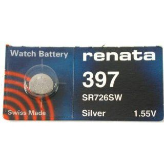 Renata Watch Battery 397   Button Cell Batteries