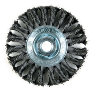 Lincoln Electric 4 in. Knotted Wire Wheel Brush KH305