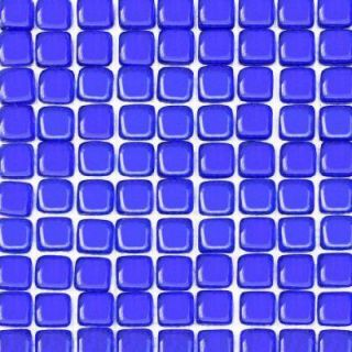 Solistone Pillow Glass Lolite 12 in. x 12 in. Accent Glass Mosaic Wall Tile (10 Sq. ft./Case)   DISCONTINUED 9027