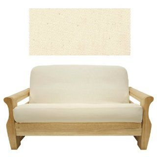 Solid Natural Futon Cover Twin 407   Futon Slipcovers