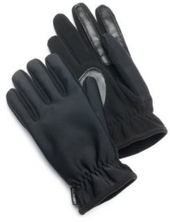 Isotoner Women's Ultra Dry Spandex/Fleece Glove, Black, X Large at  Women�s Clothing store: Cold Weather Gloves