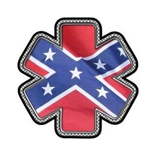 "Confederate Flag Star of Life Decal   4"" h   REFLECTIVE: Everything Else"