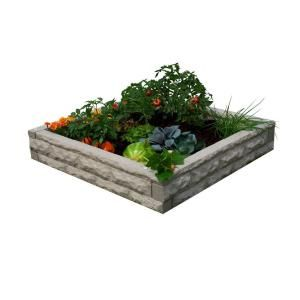 Good Ideas Sandstone Raised Garden Bed GW RBG SAN