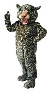 ALINCO Big Cat Leopard Mascot Costume: Adult Sized Costumes: Clothing