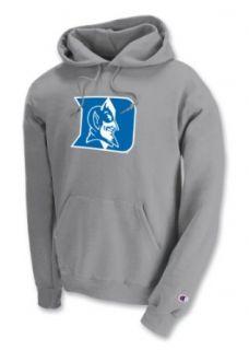 NCAA Duke Blue Devils Powerblend Hood, Grey, Large  Sports Fan Sweatshirts  Clothing