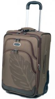 Planet Earth Luggage 21 Inch Rainforest Pullman Bag, Brown, 21: Clothing