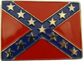 Confederate Flag Belt Buckle redneck rebel: Everything Else