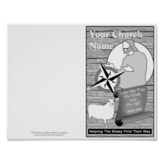 Reprintable Church Bulletin Template