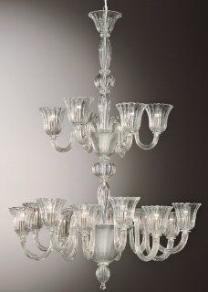 Arianna Chandelier, Model 458 12+6