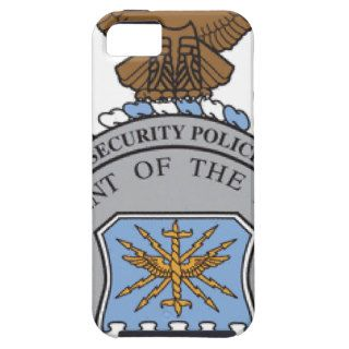 United States Air Force Security Forces Badge iPhone 5 Cases
