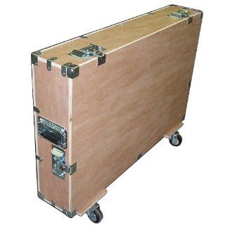 "Crate Style Bare Boards 37""  42"" Plasma LCD LED 1/2"" Plywood Case Kit w/Wheels   Unfinished Inside & Out Musical Instruments"