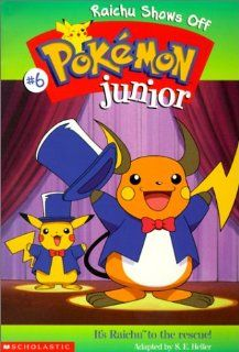 Raichu Shows Off (Pokemon Junior) (9780613267007): Sarah Heller: Books