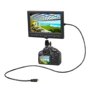 Feelworld 8 Inch Digital Panel TFT LCD HDMI 1080P Monitor for Car Entertainment,VGA, VCD,DVD, GPS System, Camera, Computer FW819AH: Computers & Accessories