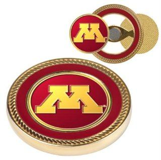 Minnesota Golden Gophers NCAA Challenge Coin & Ball Markers  Sports Fan Golf Gift Sets  Sports & Outdoors