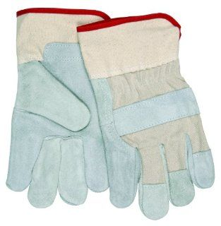 MCR Safety 1401B Select Shoulder Gunn Ladies Gloves with 2 1/2 Inch Duck Safety Cuff, Natural, Small   Work Gloves