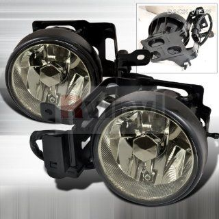 OEM Style Fog Lights Mitsubishi Montero 2000 2001 2002 2003 2004   Smoke: Automotive